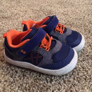 Stride rite Velcro baby shoes
